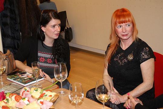 Bára Štěpánová s dcerou