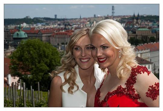 Na svatbě byla i kamarádka Ivy z rádia Zorka Hejdová.