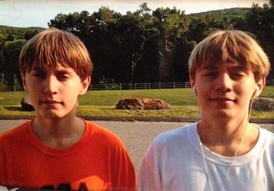 Andy a Jim oslavili patnácté narozeniny.