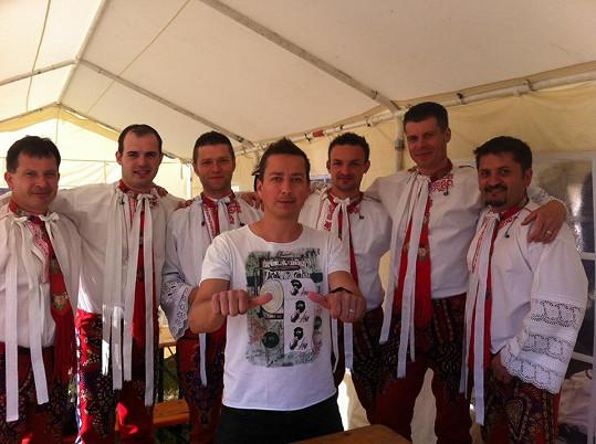 Petr s kapelou Grajcar v Tišnově