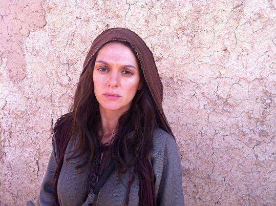 Klára Issová si zahrála Máří Magdalénu.