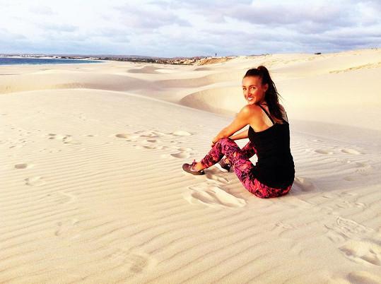 Táňa v dunách