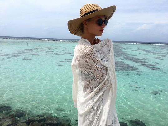 Veronika u Indického oceánu