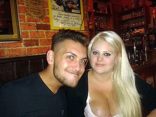 Charlotte Štiková s přítelem Michalem