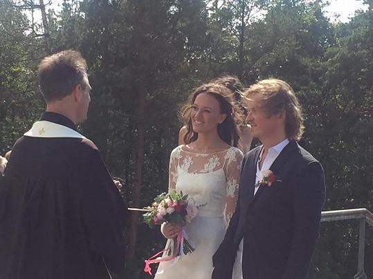 Tady si Kristýna a Kája řekli své Ano.