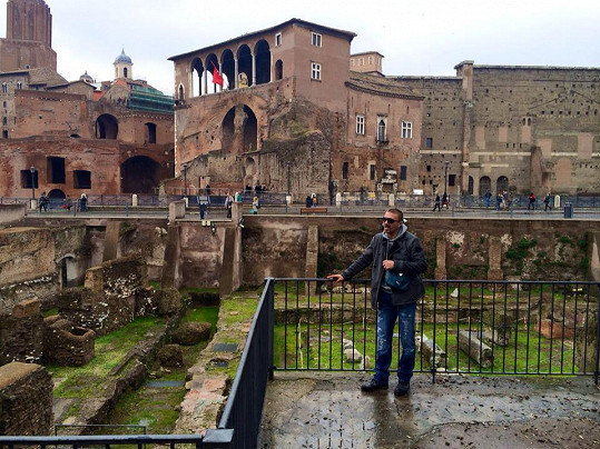 Tomáš dostal výlet do Říma k narozeninám.
