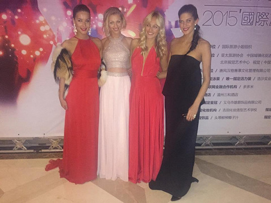 Na galavečeru Miss Tourism International