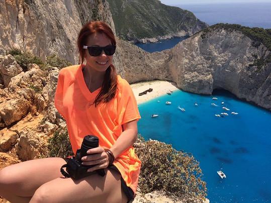 Míša je single a užívá si krásy Řecka.