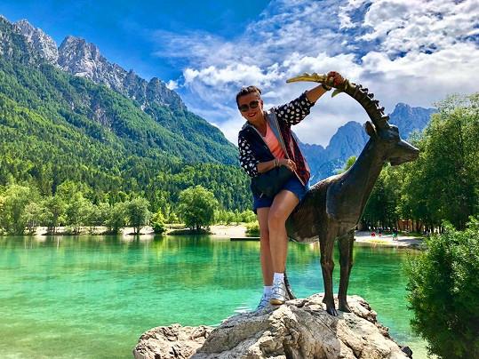 Dana z Rakouska přejela do Slovinska, kde si užívá krásnou přírodu.