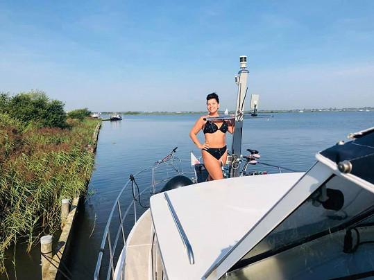 Na dovolenou Andrea Kalivodová vyrazila do Holandska.