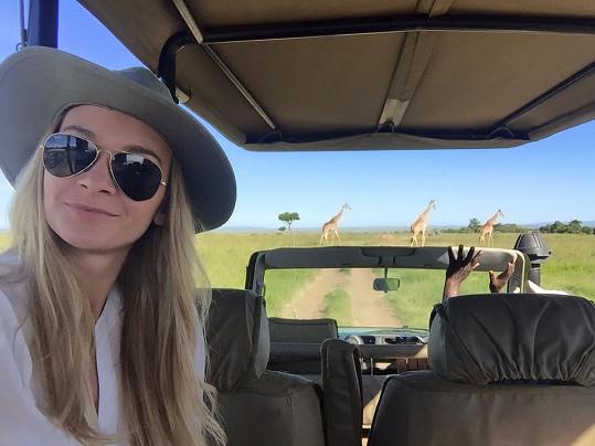 Přechod pro žirafy...