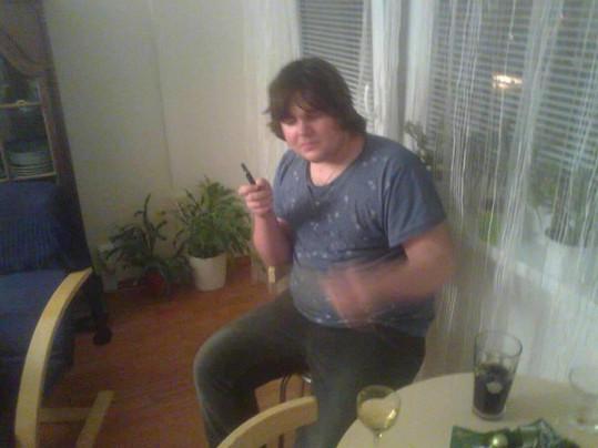 Takhle vypadal Ondřej ještě před pár lety. Mnoho fotek z té doby nemá.