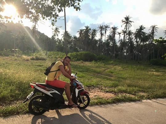 Výlet na motorce se ale mohl vyvést lépe.