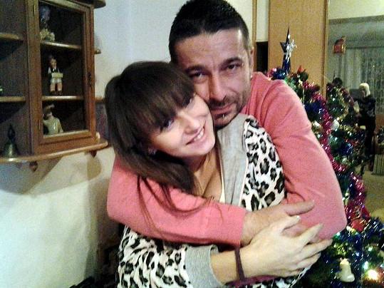 Tony Jalovec a jeho nová manželka Katarinka.