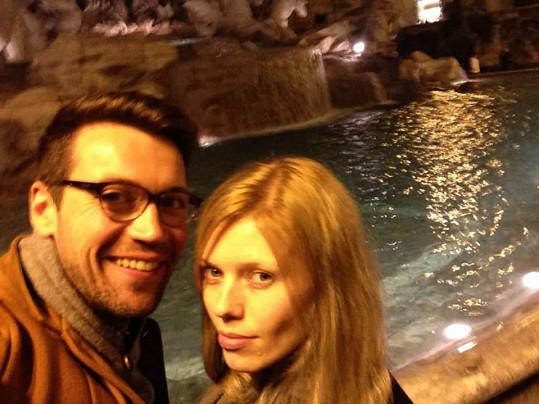 U Fontány di Trevi v Římě