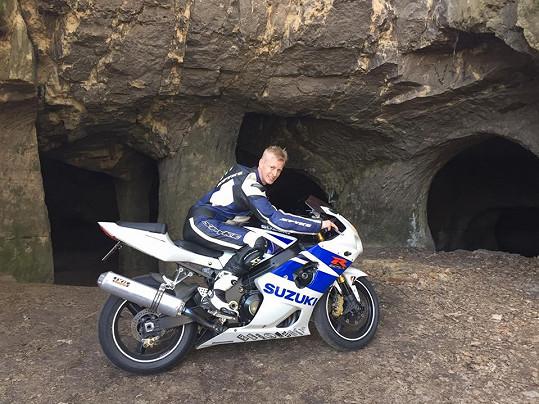Jan Velička se zabil na motorce.