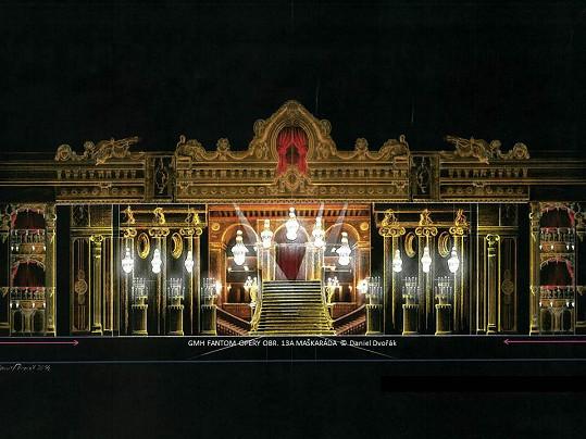 Další z kulis Fantoma opery