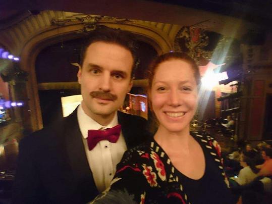 Jednoho z autorů Hry, která se zvrtla, již na podzim uvede Divadlo Bez zábradlí, potkali v hledišti.