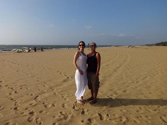 Pláž ve městě Negombo je moc nenadchla.