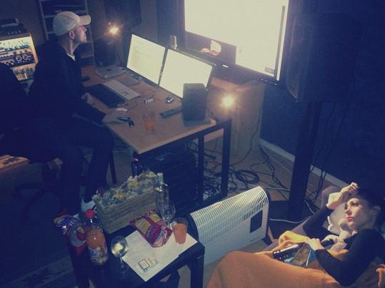 Tereza Kerndlová pracuje na novém singlu.