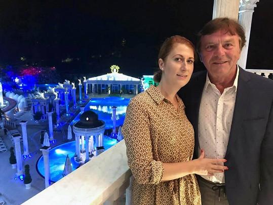 Romantický výlet nesměl po 5 letech od svatby chybět.