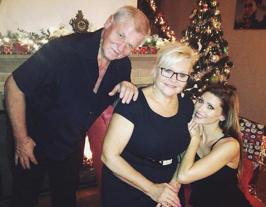 Tereza má se svými rodiči krásný vztah.