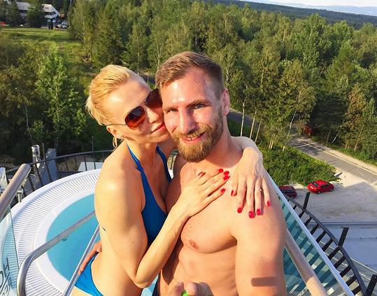 Hana Mašlíková a André Reinders už jsou manželé...