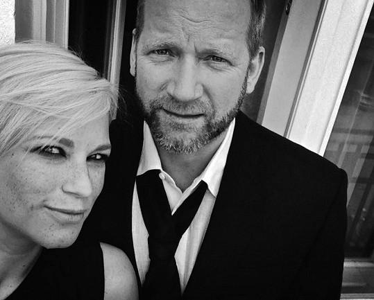 David Koller a přítelkyně Linda