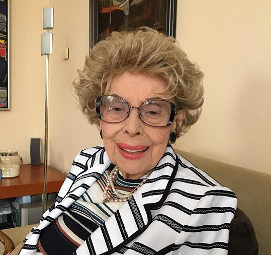 Maminka Margity odešla ve věku 98 let.