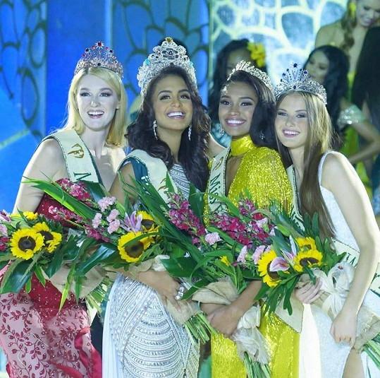 Klára se umístila na třetím místě na světové soutěži Miss Earth.