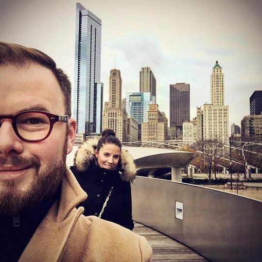 """""""Jsme doma teprve chvíli, ale už teď se nám po Chicagu, městě plném hudby, stýská! Vrátíme se!"""" vzkazují Jan a Kateřina."""