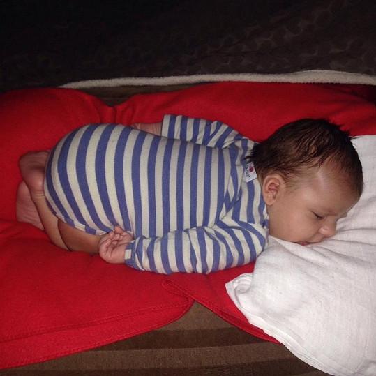 Styl spánku má parádní...