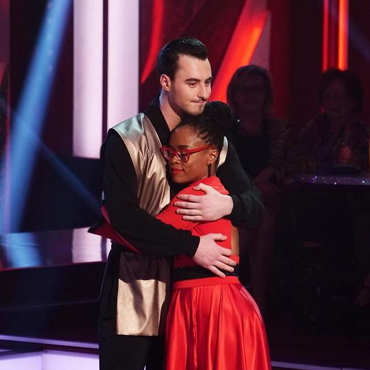 Diváci se museli se známou zpěvačkou rozloučit.