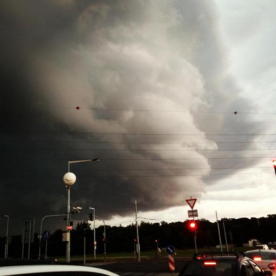 ...které překazila ničivá bouře.