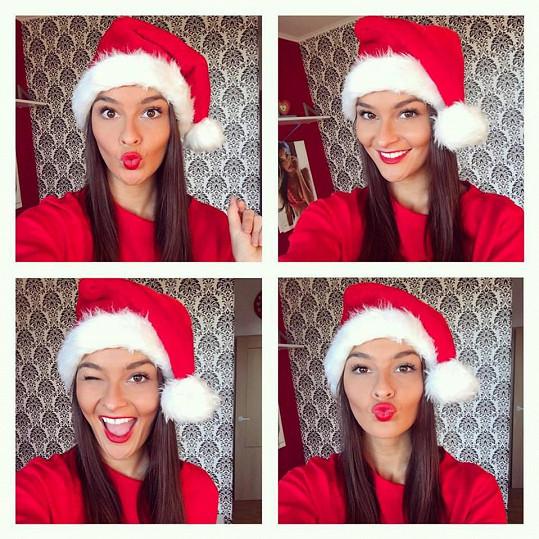 Nikol Švantnerová jako slečna Santa Clausová