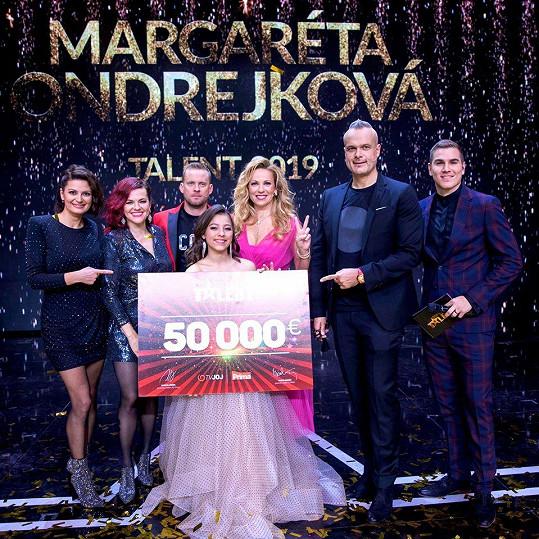 Margaréta Ondrejková zazářila v Česko Slovensko má talent a odnesla si výhru 50 tisíc eur.