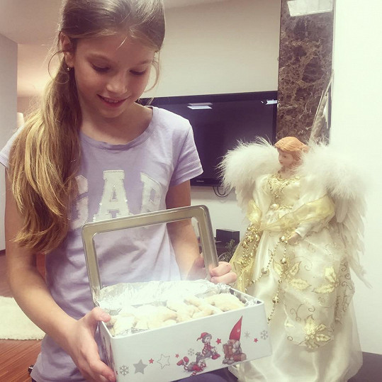Pomáhala i dcera Vanesska.