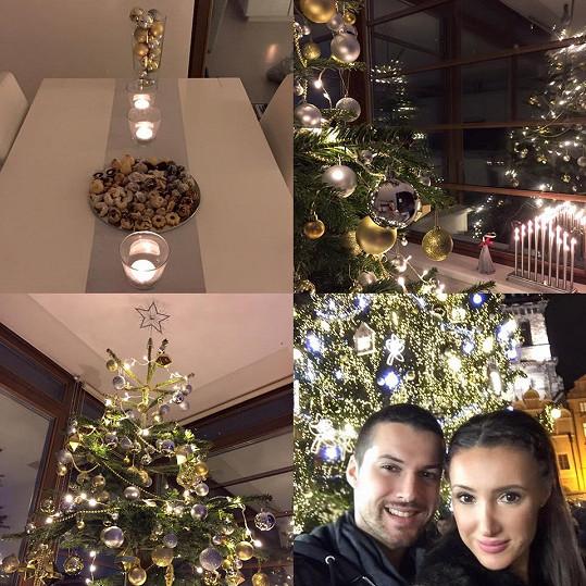 Vánoční nálada u Táni Makarenko a Zdeňka Bahenského