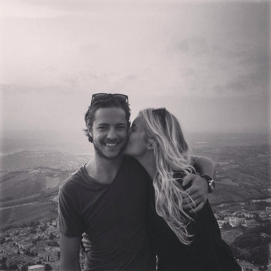 S přítelem Markem navštívila i San Marino.
