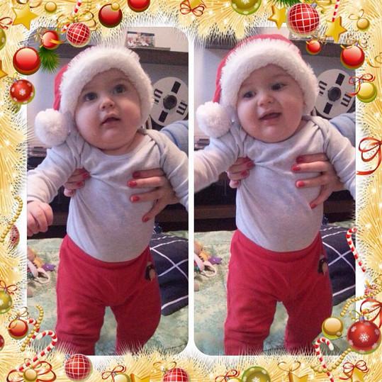 Quentin se těší na první Vánoce.