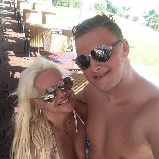 Monika Štiková s přítelem na dovolené v Turecku