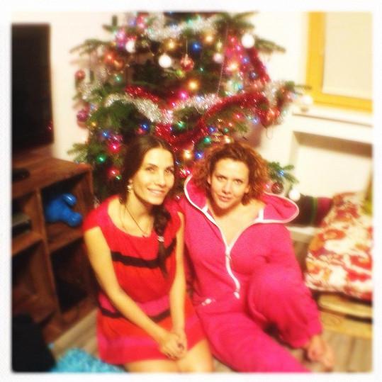 Eva Decastelo slavila Vánoce s exmanželkou svého muže Stěpánkou.