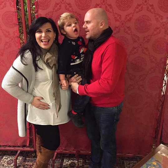 Prvorozený Adrian se tak dočkal brášky.