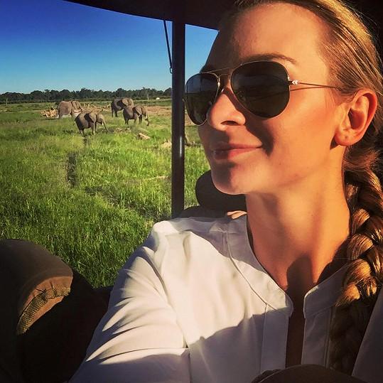 Selfie se slony