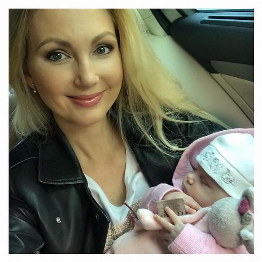 Sandra s dcerou Emily