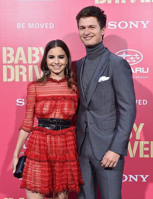 Pár v létě na premiéře Elgortova zatím posledního filmu Baby Driver