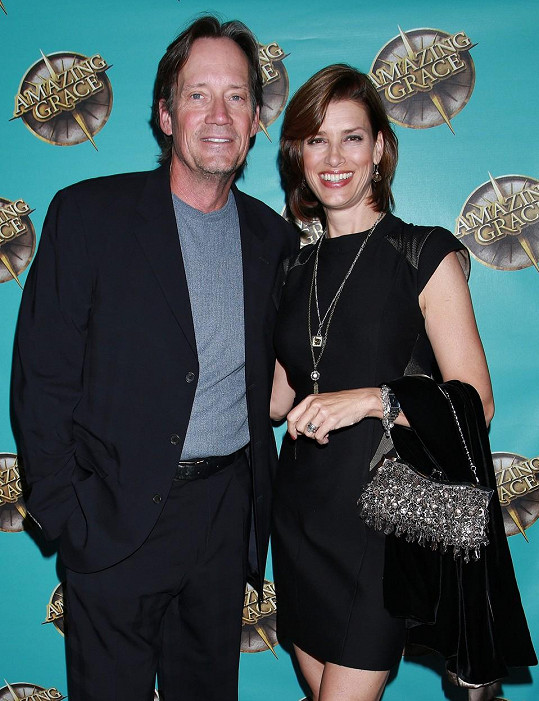 Herec s manželkou Sam Sorbo