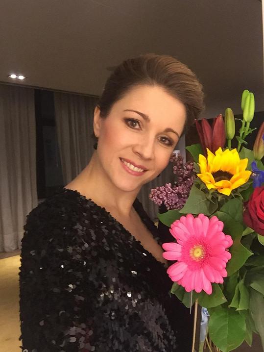 Kateřina Kněžíková je dokonalou reprezentantkou české krásy.