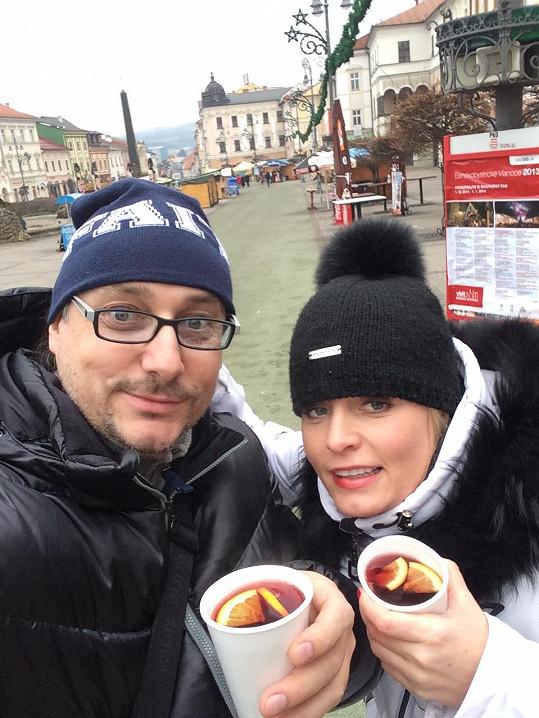 Marian Vojtko si Vánoce s přítelkyní užili.