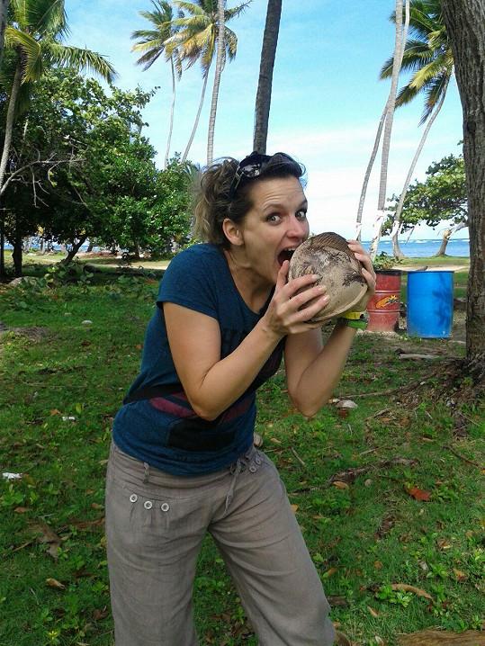 Ochutnávka kokosového ořechu